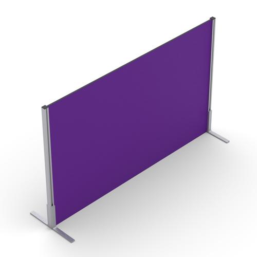 1000mm High Straight Floor Standing Screen