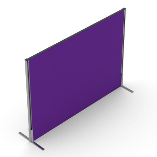 1400mm High Straight Floor Standing Screen