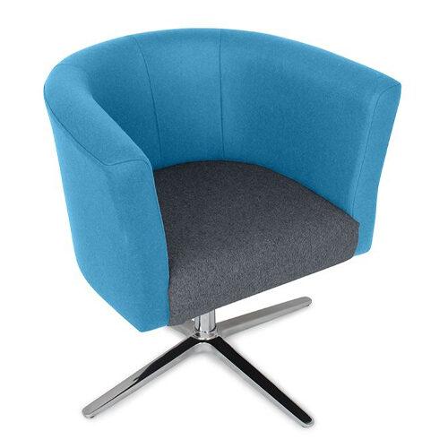 Tub Chair, 4 Star Base (AX2)