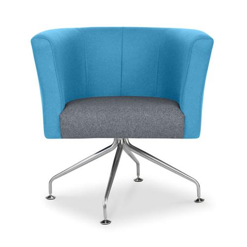 Tub Chair, Spider Base (AX3)