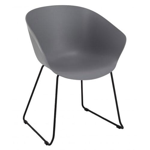 Fully Upholstered, Black Skid Frame (HT1)