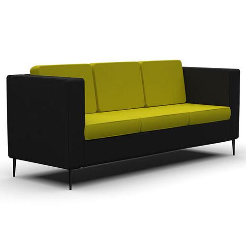 Three Seater Sofa, Metal Legs (HW3)
