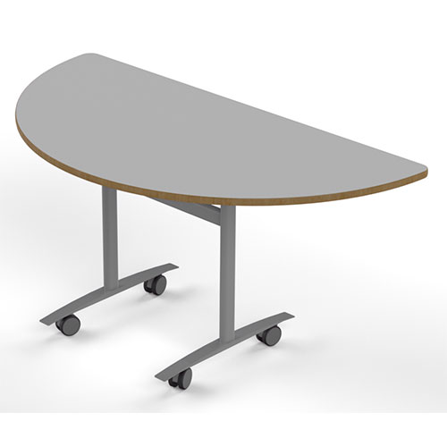 Semi Circular Table, 600mm or 800mm deep (SPN2)