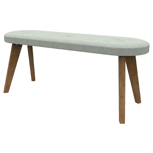Low Bench, 4 Wooden Legs (WDES3)