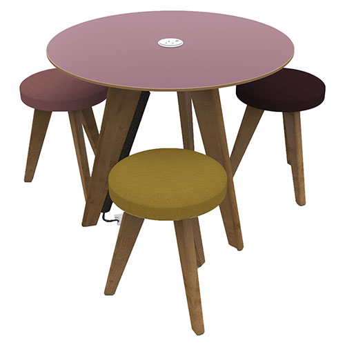 3 Leg Tables with Round Top (WDET1)