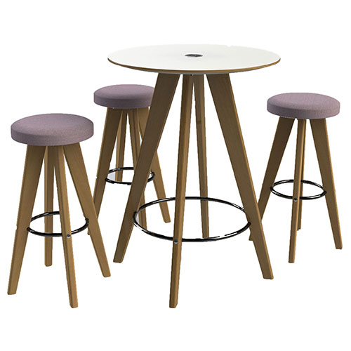4 Leg Tables with Round Top (WDET2)
