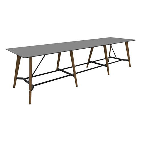 4500mm x 1200mm, 8 Leg Table with 3 piece top (WDET9)