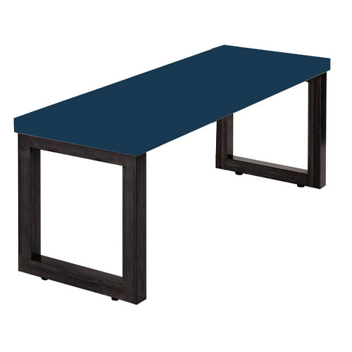 Bench Seat, Upholstered Seat, 350mm deep, 420mm high (ALF1)