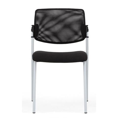 Mesh Back, black 4 leg frame (BLZ5)