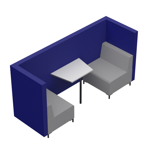 Two Person Booth, Open End (CO5OE)