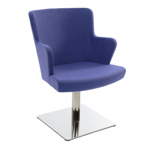 Fully Upholstered, Square Base with Arms (FL6/A)
