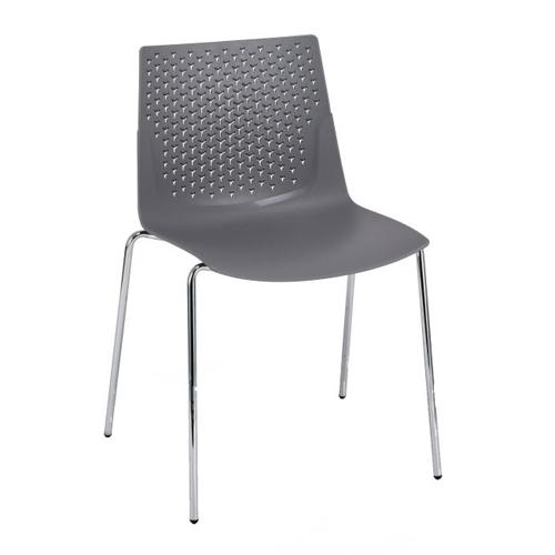 Grey, 4 Leg Chrome (FX1)