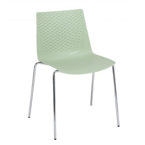 Pastel Green, 4 Leg Chrome (FX3)